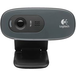 Logitech HD Web camera, standard-black