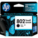 HP 802 Small Black Ink Cartridge,  black