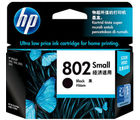HP 802 Small Black Ink Cartridge (Black)