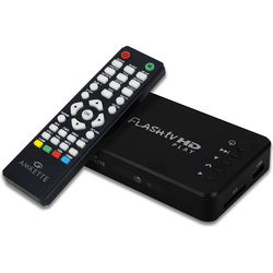 Amkette Flash TV High Definition Multimedia Player,  black