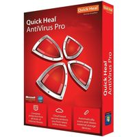 Quick Heal AntiVirus Pro, multicolur, 1 user