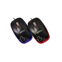 Zebronics Optical PS2 Mouse (Dusk), multicolor