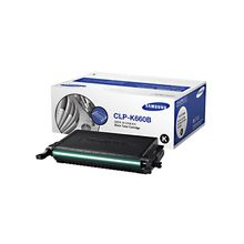 Samsung Toner Cartridge CLP-K660B/XIP,  black