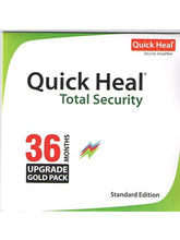 Quick Heal Total Security Renewal Upgrade Pack, 3 year, 10 user