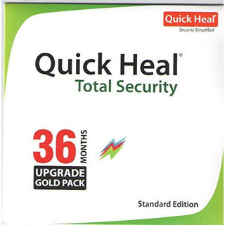 Quick Heal Total Security Renewal Upgrade Pack, 3 year, 1 user