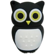 Smiledrive Fancy Designer Owl Shaped USB Pendrive, 16 gb, multicolor