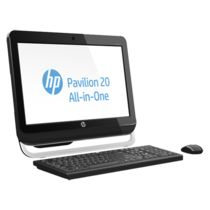 HP Pavilion 20-a240in All-in-One Desktop PC(H6M55AA) (3rd Gen Ci3/ 4GB RAM/ 500GB HDD/ Win8/ Intel HD Graphics),  black