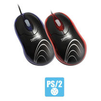 Zebronics M126 PS2 Optical Mouse, multicolor