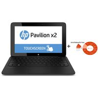 HP Pavilion TouchSmart 15-n015tx Notebook PC+ Microsoft Office 365 Small Business Premium,  black