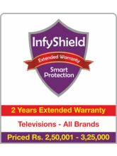 InfyShield 2 Yrs Extended Warranty on TVs Rs. 250001 - 325000