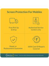 Screen Protection for SmartPhones (40k to 50k) for 1year by OnsiteGo