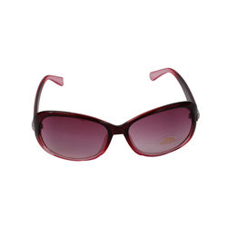 Salvatorio Women s Cat-Eye Red Sunglasses, red