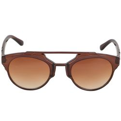 Alee Full Rim Unisex Wayfare Sunglasses,  brown