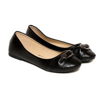 TEN Women's Synthetic Leather Bellies,  black, 40