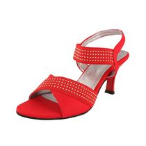 Assort Partywear Heel. 120,  red, 3