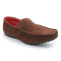 Bacca bucci Men's Loafers, 8,  brown