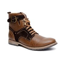 Bacca Bucci Men's Boots, 6,  brown