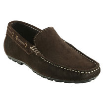 Bacca bucci Genuine Leather Men's Loafers, 8,  brown