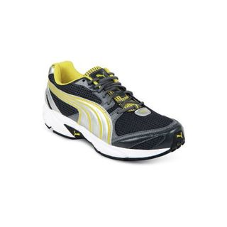 efcbf808da017 Puma Men Flash Ind Sports Shoes, grey yellow, 9 available at Infibeam for Rs