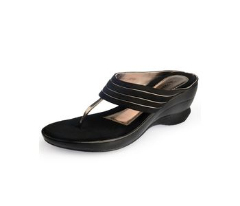 Assort Suede Wedge 111, black, 2