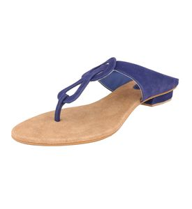 Assort Women Casual Flats 114, blue, 4