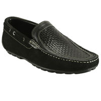 Bacca bucci Genuine Leather Men's Loafers, 9,  black