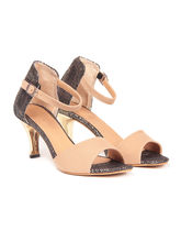 TEN Women's Suede Sandals, beige, 40