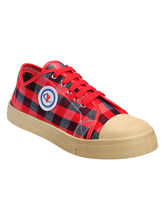Yepme Stylish Canvas Shoes, red, 10