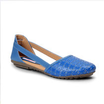 Meriggiare Women Flats, 36,  blue