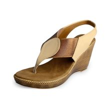 Assort Ssynthetic Wedges 107, beige, 8