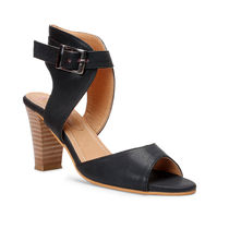 Meriggiare Women Heels, 39,  black