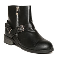 TEN Leather Boots,  black, 36