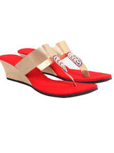 Maalpani Gorgeous Party Wedges For Women - MAP09002, 9, multicolor