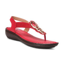 Meriggiare Women Flats, 37,  red