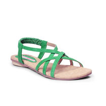 Meriggiare Women Flats, 39,  green