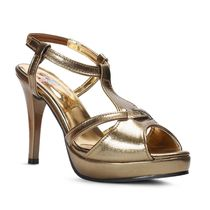 Meriggiare Women Heels, 41,  gold