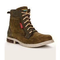 Bacca Bucci Men's Boots, 10, olive