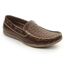 Bacca bucci Men's Loafers, 6,  brown