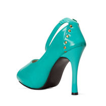 Meriggiare Women Heels, 41,  green