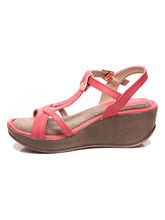 Marc Loire Women's Janette Open Toe Wedges, pink, 41