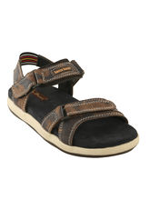 Bacca bucci Genuine Leather Men's Sandals, brown, 9
