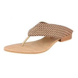 Assort Casual Flats Ant 132, gold, 5