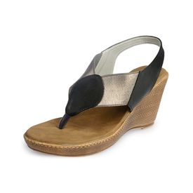 Assort Ssynthetic Wedges 107, black, 9