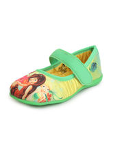 Disney Princess Ballerina Shoes For Girls, 27, green
