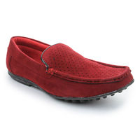 Bacca bucci Men's Loafers, 8,  red