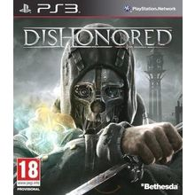 Dishonored (Game, PS3), dvd