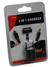 Red Gear 4 In 1 Charger (Black)