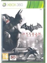 Batman : Arkham City ( Games, X-Box-360)