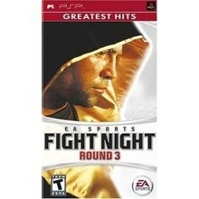 Fight Night Round 3 (Game, PSP), dvd