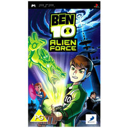 BEN 10: Alien Force (Game, PSP), dvd
